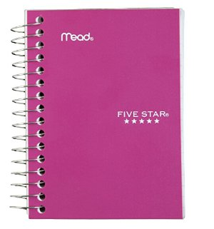 $1.97Five Star Fat Lil' Wirebound Notebook 200-Count (45388), Colors May Vary