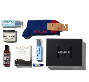 £25.00(Worth £110)Mankind Grooming Box