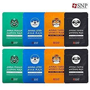 $13.1 SNP Animals Character Printed Mask (4 Types X2)