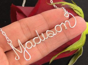 $19(reg.$79)Personalized Name Necklace in Sterling Silver - 16