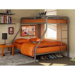 $149 Dorel Twin-Over-Full Metal Bunk Bed