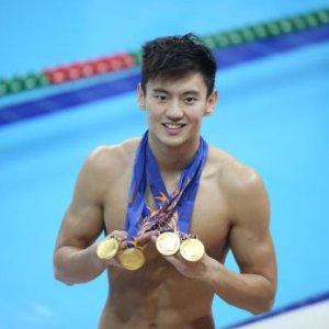 老公喊你锻炼身体宁泽涛教你如何边看奥运边健身
