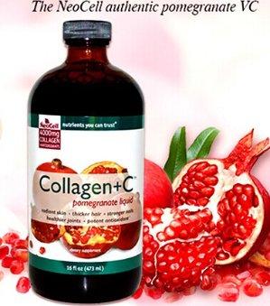 $18NeoCell Super Collagen+C Type 1&3 Pomegranate Liquid 16oz