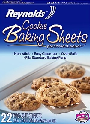 $2.79Reynolds Cookie Baking Sheets Non-Stick Parchment Paper (22 Sheets)