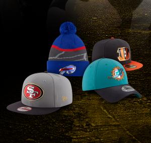 10块10块统统都10块Lids多款 NFL 帽子特卖