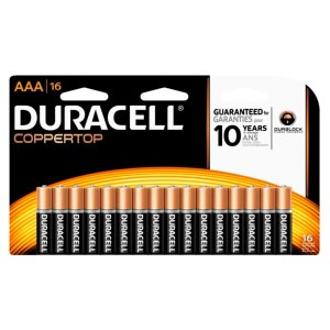 $14.99 + $14.98 Rewards16-Pack Duracell Coppertop Batteries (AA/AAA)