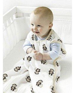 CDN$11史低价!aden + anais Muslin 小号婴儿睡袋