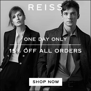 15% OffSitewide @ Reiss Dealmoon Singles Day Exclusive