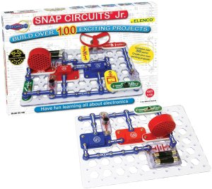 $17 Snap Circuits Jr. SC-100 Electronics Discovery Kit