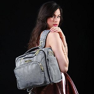 $119 Ju-Ju-Be Legacy Collection B.F.F. Convertible Diaper Bag, The Queen of the Nile