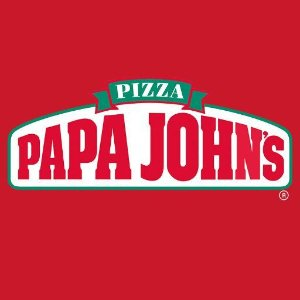 50% offPapa John's pizza on sale
