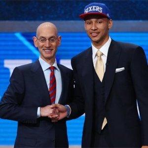 Congratulations!Philadelphia 76ers Royal 2016 NBA Draft Snapback Hat