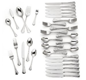 $69.97Covington 80-piece Stainless Flatware Set by Reed & Barton