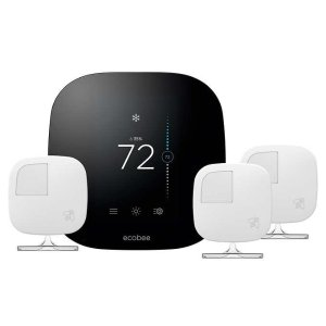 $199.99Ecobee3 智能无线恒温器+3个传感器 超值套装