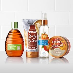 Buy 3 get 3 freeSitewides @ Bath & Body Works
