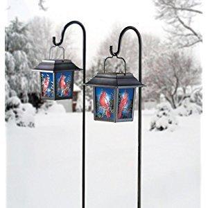 $7.55Moonrays 92276 太阳能LED 古风彩色玻璃庭院灯