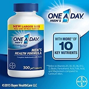 $8.43One A Day Multivitamin, Men's Health Formula , 200 Tablet Bottle