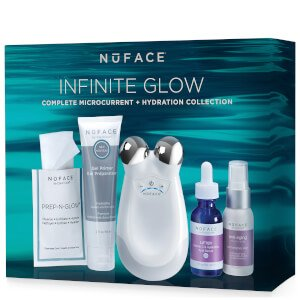 $195($443 value)NUFACE TRINITY INFINITE GLOW COMPLETE MICROCURRENT AND HYDRATION COLLECTION