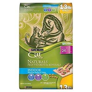 $11 Purina Cat Chow Naturals Indoor Dry Cat Food