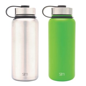 $6Simple Modern 32 oz. Summit Vacuum Insulated Stainless Steel Water Bottle, Various Colors (2 pk.)