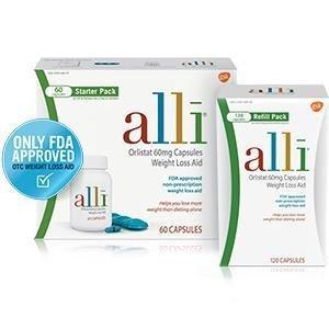 $39.2alli Diet Pills 控脂减肥药 FDA认证 120粒