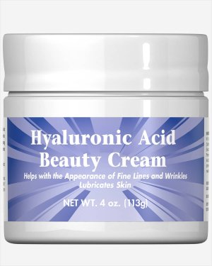 3 for $9.49Hyaluronic Acid Beauty Cream @ Puritan's Pride 4oz