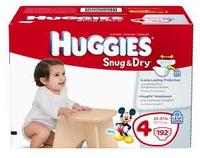 Huggies 可打印的优惠券$1.50 Off Huggies diaper + $2 off Huggies Little Movers Slip on Diaper