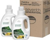 $16Seventh Generation Laundry 4x 40-oz. 2-Pack