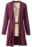 $13Coldwater Creek Women's Long Belted Cardigan