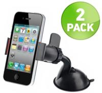 $62 Pack Of 360 Degree Rotating Suction Grip Phone Mounts