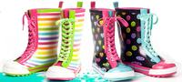 15% OFFRain Boots, Jelly Totes & New Bee Anklets @ LittleMissMatched