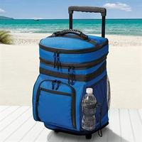 $27Rolling Cooler with Zip Pockets