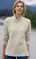 $21Orvis Women's Button-Neck Cozy Pullover