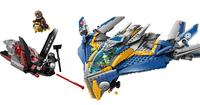 $59LEGO Suerpheroes Guardians of the Galaxy The Milano Spaceship Rescue Set, 76021