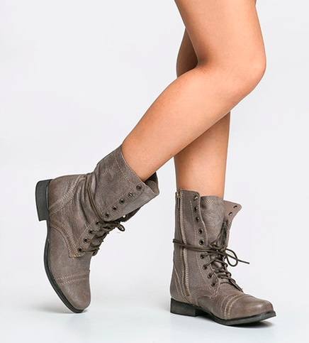 $85Steve Madden Troopa Boot, 3 Colors