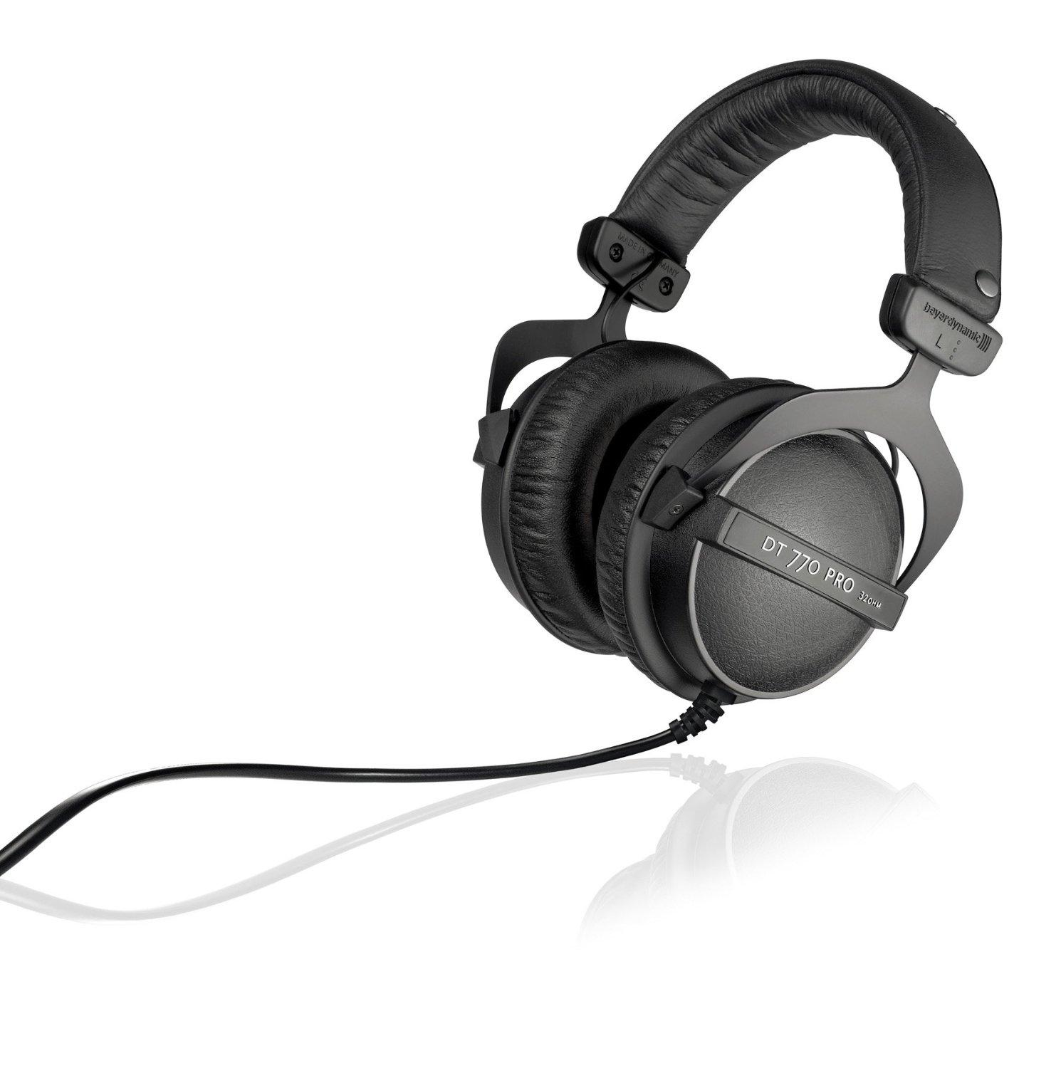 $134Beyerdynamic DT 770 Pro 32 Ohm Closed Studio Reference Headphone
