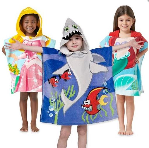 $7Northpoint Kids 100% Cotton Hooded Towel for Boys & Girls @ GearXS