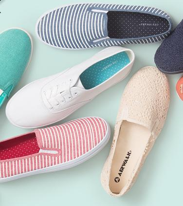 2 For $20Slip on & Sneakers @ Payless