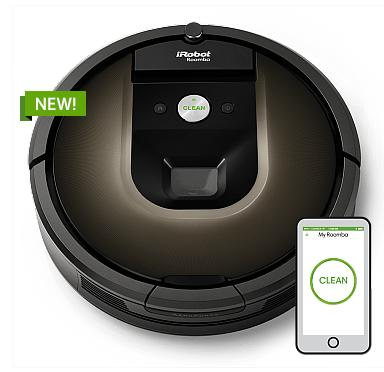 $799iRobot Roomba 980 Vacuum Cleaning Robot