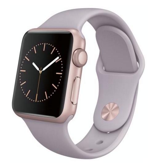 $215.99Pre-owned Apple Watch Sport 38mm Rose Gold Aluminum Case - Lavender Sport Band