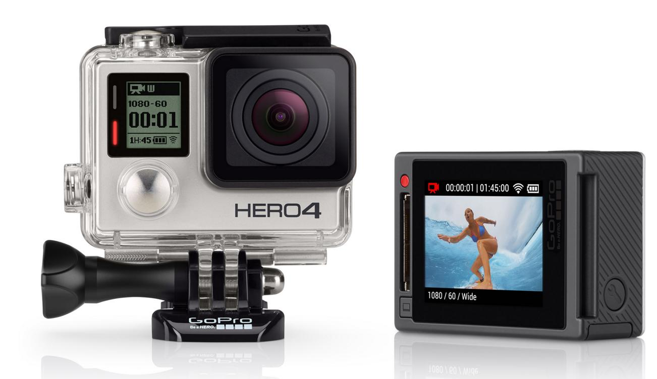 $299.99GoPro HD HERO4 Silver Edition Action Camcorder CHDHY-401
