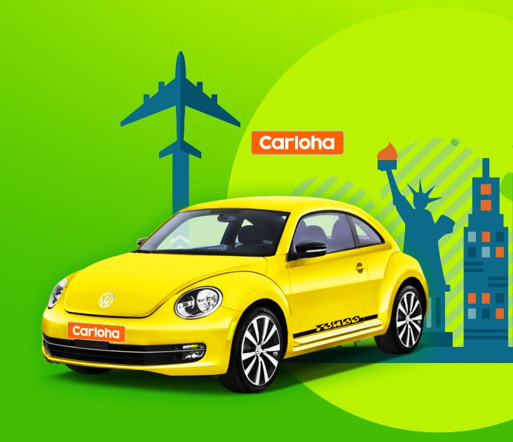 Free airline tickets to New York from anywhere!Enjoy your car-buying trip on Carloha.com!