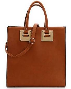 $39Madison West Gold Plate Tote