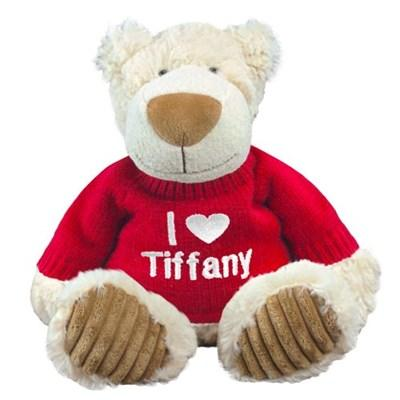 $15Embroidered I Love You Teddy Bear - 12