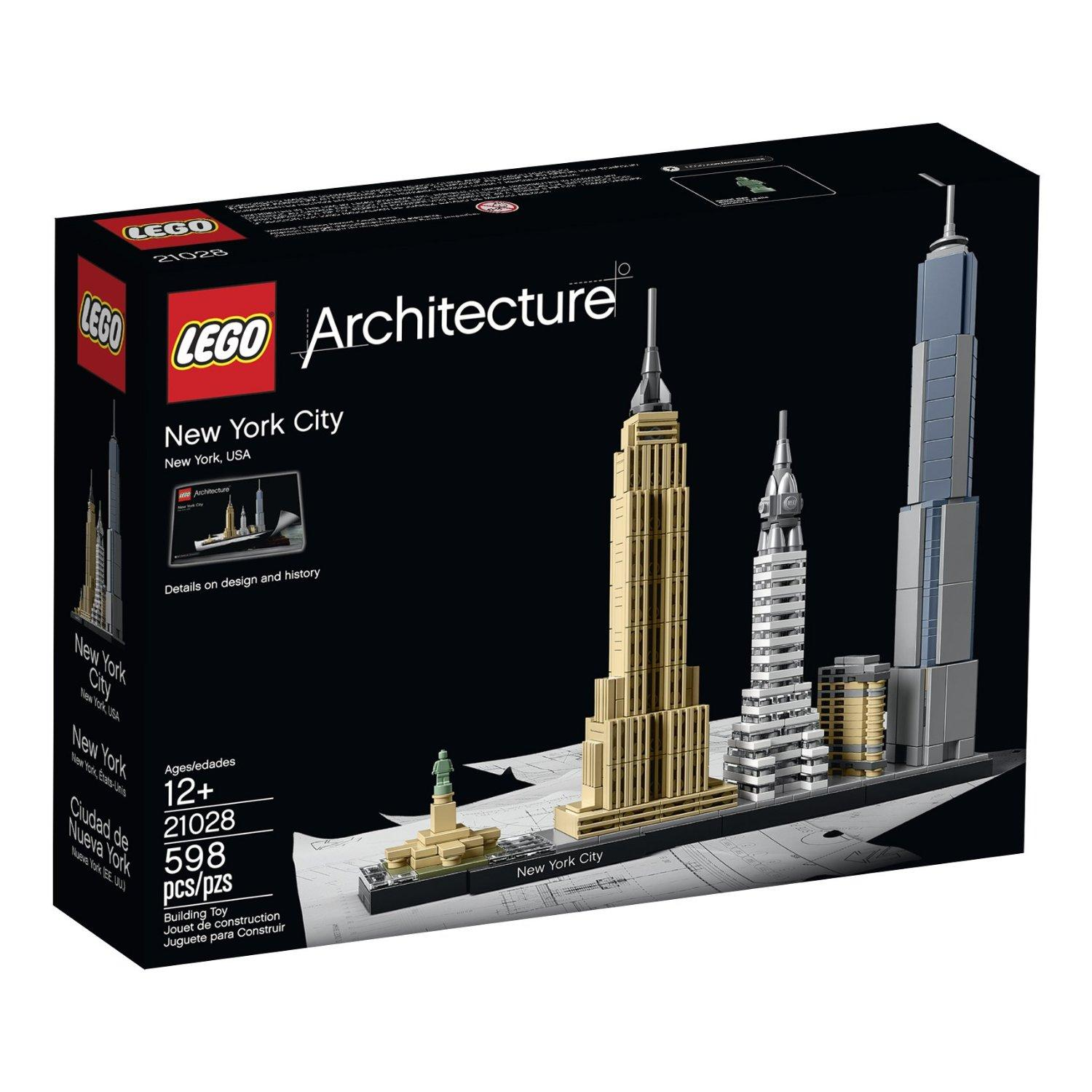 $45 LEGO Architecture New York City 21028
