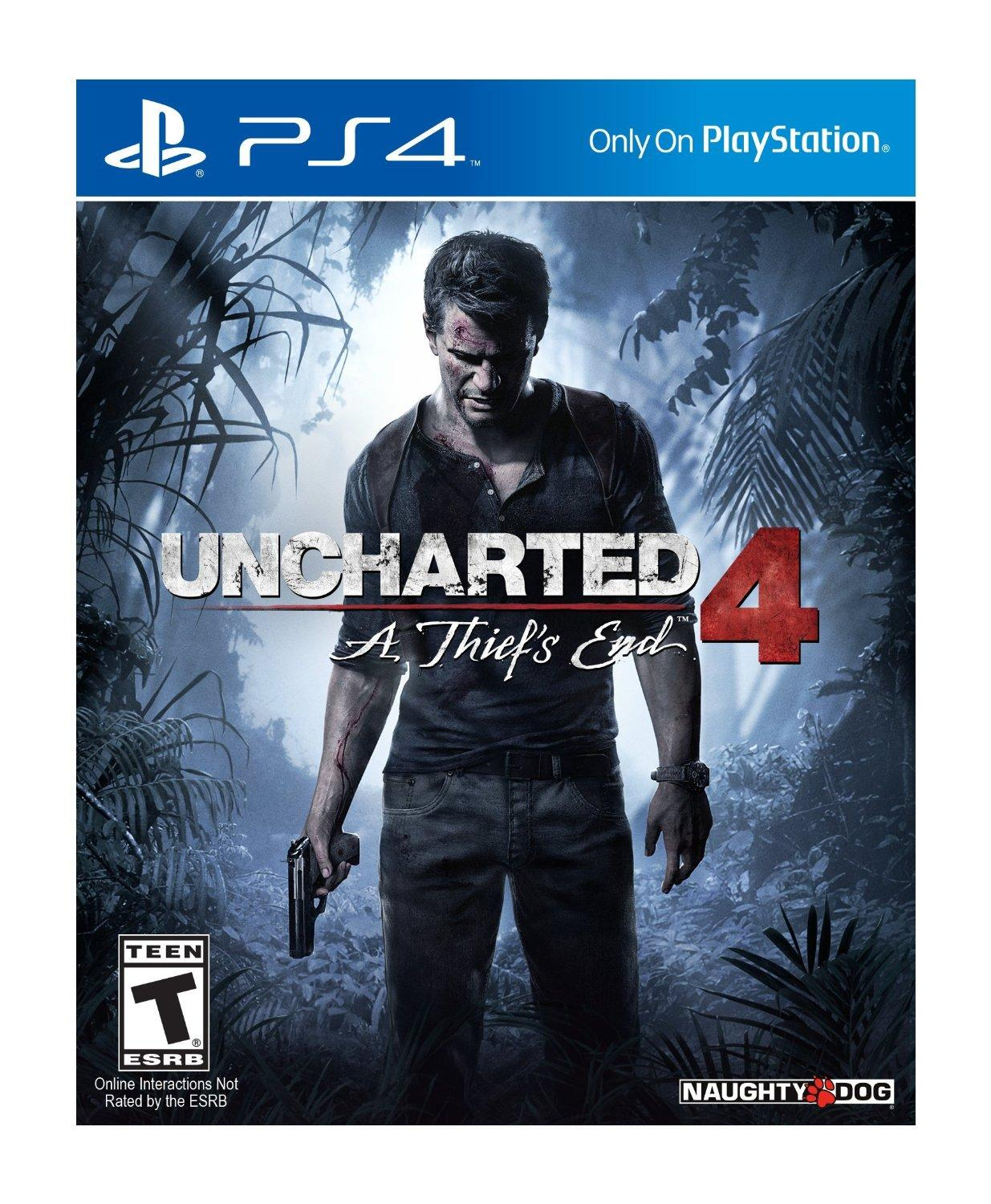 $24Uncharted 4: A Thief's End - PlayStation 4(Used)
