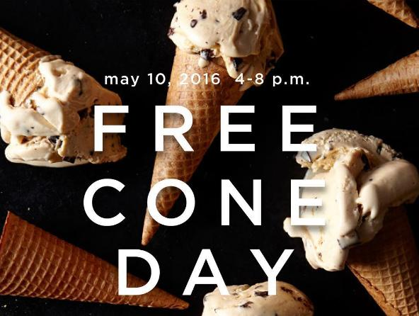 Free Cone Day@ Haagen-Dazs on May 10, 2016