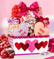 This weekend only!Save 25% on Valentine's Day Gifts @ 1-800-Baskets.com