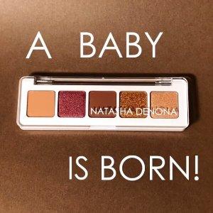 $25起+自选中样+5个小样上新:Natasha迷你日落盘、Pat 小盘眼影盘集体上市 新品眼影一网打尽