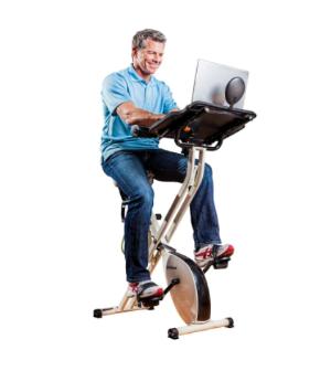 $199.62限今天:FitDesk 健身单车带电脑桌
